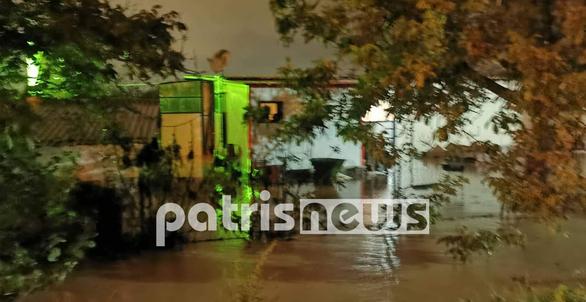 Δυτική Ελλάδα: Δύσκολο βράδυ για Πύργο και Ζαχάρω - Πλημμύρισαν δρόμοι και σπίτια (φωτο)