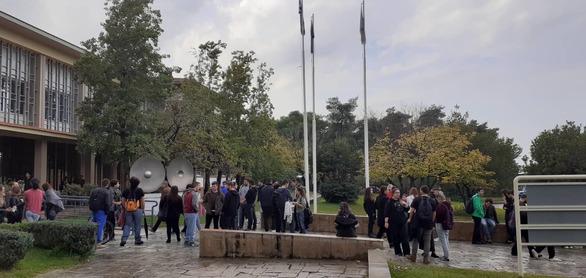 Σε κλοιό κινητοποιήσεων μπαίνει το Πανεπιστήμιο Πατρών (φωτό + βίντεο)