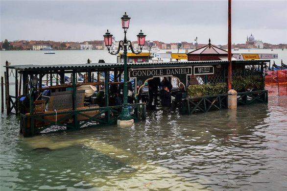 Ιταλία: «Βούλιαξε» ξανά η Βενετία (φωτο)