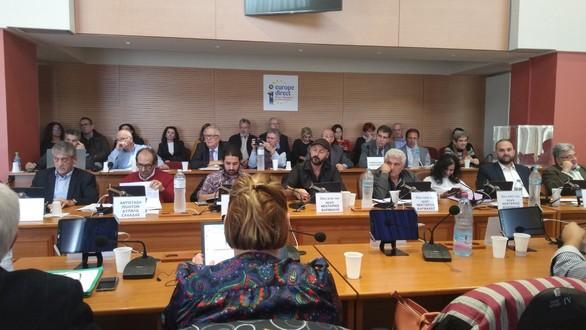 Δυτ. Ελλάδα: Ο Γιώργος Τελώνης εκλέχτηκε Περιφερειακός Συμπαραστάτης του Πολίτη και της Επιχείρησης(φωτο)