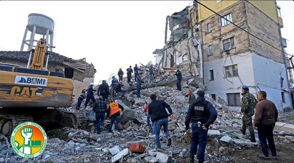 Συλλογή τροφίμων και ρούχων για τους πληγέντες της Αλβανίας στην πλατεία Γεωργίου
