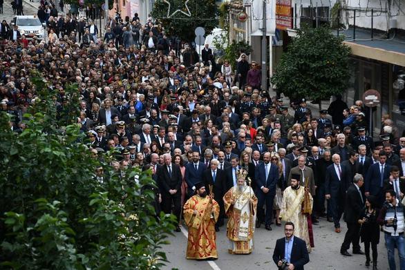 Πάτρα: Η Δημοτική Αρχή συμμετείχε στις εκδηλώσεις για τον Άγιο Ανδρέα (φωτο)