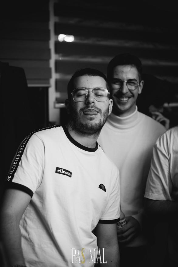 Mr.Panos & Andy Es at Pas Mal 01-12-19
