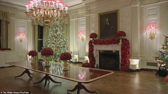 Η Μελάνια Τραμπ στόλισε το Λευκό Οίκο (φωτο)