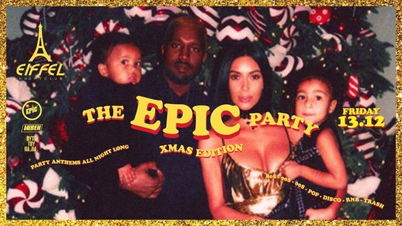 The epic Xmas Party at Eiffel Night Club