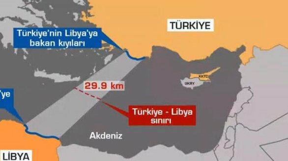 Η Λιβύη έθεσε σε ισχύ τη συμφωνία με την Τουρκία