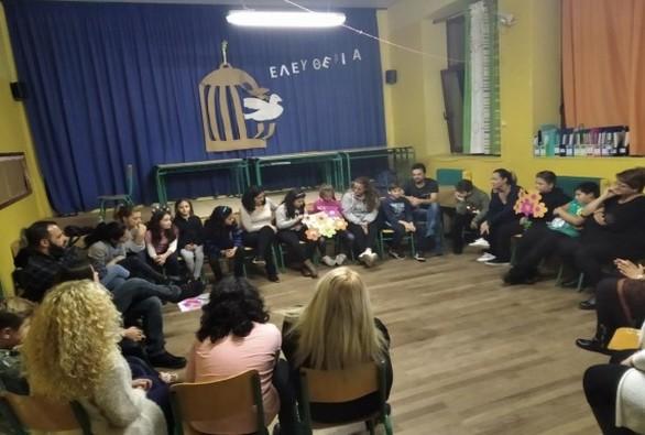 Αίγιο - Εργαστήρια για όλη την οικογένεια στα Δημοτικά Σχολεία Αβύθου και Ελίκης (φωτο)