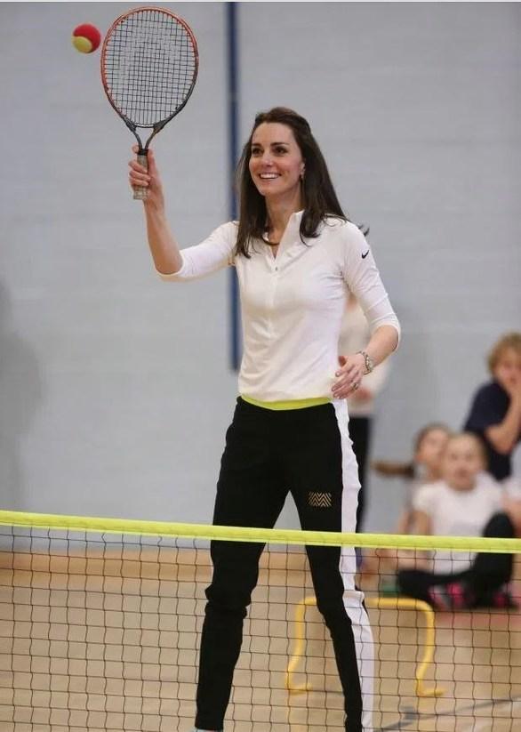 Ιδιωτικά μαθήματα τένις για την Kate Middleton! (φωτο)