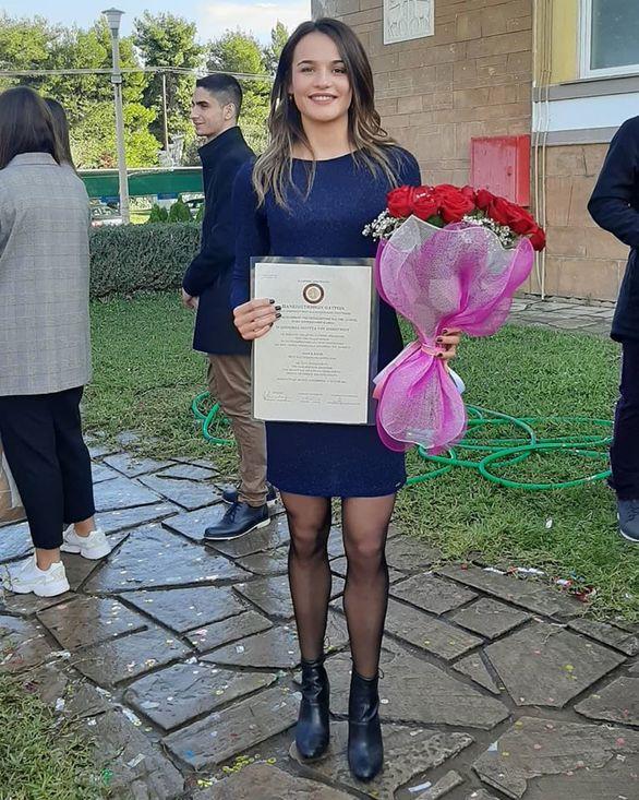 Πήρε το πτυχίο της η Πατρινή πρωταθλήτρια Δέσποινα Μουρτά!