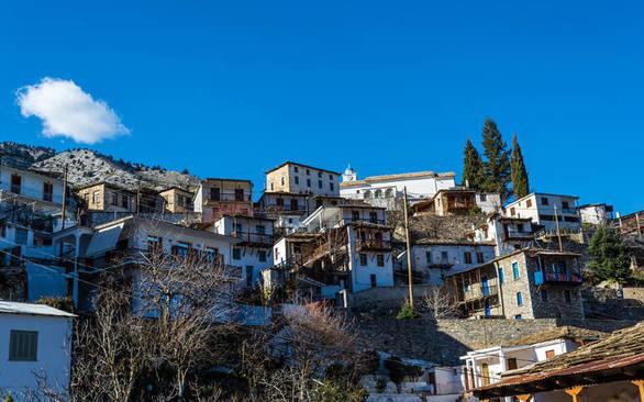Καστανίτσα - Ένα από τα πιο όμορφα χωριά της Πελοποννήσου (φωτο)