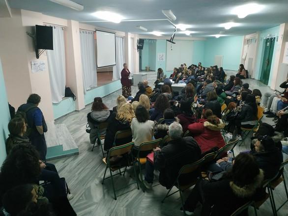ΔΙΕΚ Πάτρας: Με επιτυχία η εκδήλωση από τον Σύλλογο Γυναικών με Καρκίνο Μαστού «Άλμα Ζωής»