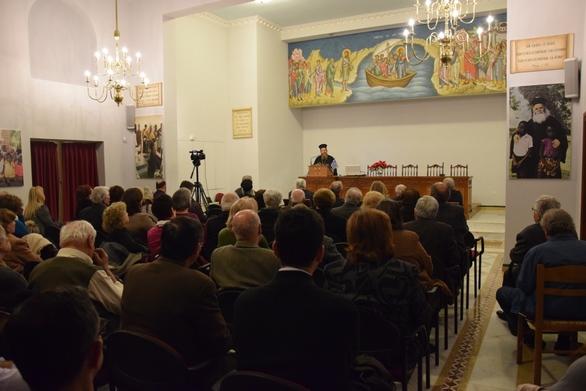 Ενδιαφέρουσα ομιλία στον «Πρωτόκλητο», από τον Θεοφιλέστατο Επίσκοπο Μαλάουϊ κ. Φώτιο! (φωτο)