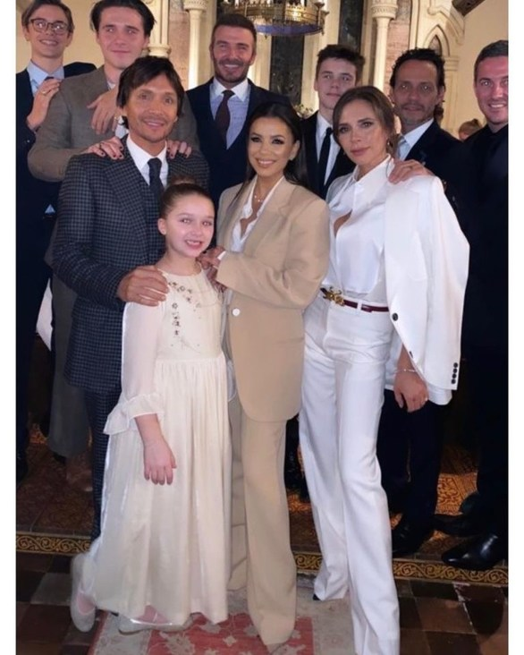 Victoria & David Beckham βάπτισαν την Harper και τον Cruz! (φωτο)