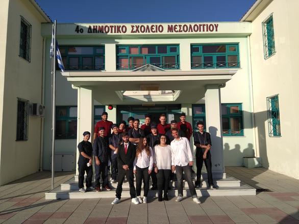Δυτική Ελλάδα: Οι Χριστουγεννιάτικες δράσεις της ΕΠΑΣ Μαθητείας ΟΑΕΔ Μεσολογγίου! (φωτο)