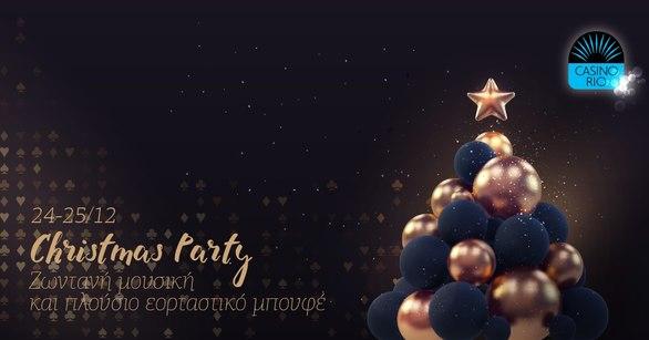 Christmas Party at Casino Rio Patras
