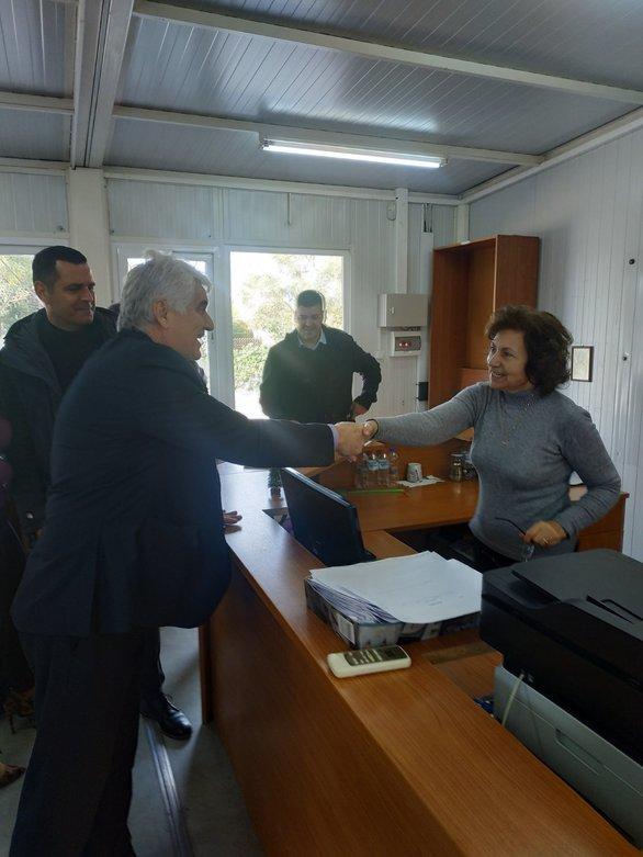 Δυτική Αχαΐα: Eυχές από τον Δήμαρχο στους εργαζόμενους (φωτο)