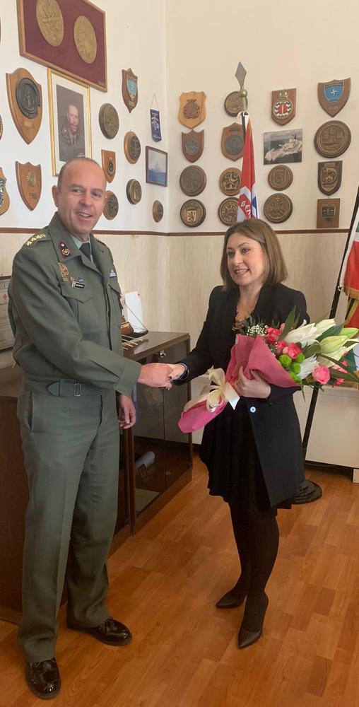 Η Χριστίνα Αλεξοπούλου επισκέφθηκε το Κέντρο Εκπαίδευσης Τεχνικού Πάτρας