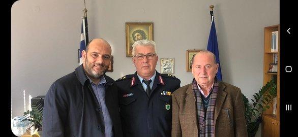 Ο Ιάσονας Φωτήλας επισκέφθηκε τη Γενική Περιφερειακή Αστυνομική Διεύθυνση Δυτικής Ελλάδας