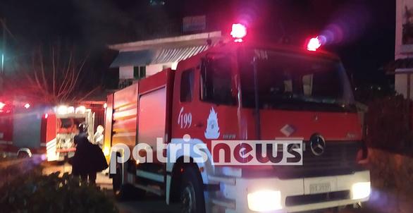 Ηλεία: Νεκρός 78χρονος από πυρκαγιά στο σπίτι του (pics+video)