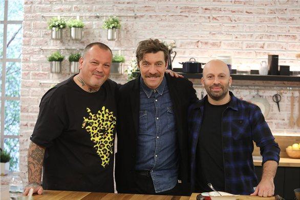 """Η Μαρία Μπεκατώρου και ο Γιάννης Στάνκογλου κάνουν ποδαρικό στο """"Food n' Friends»"""