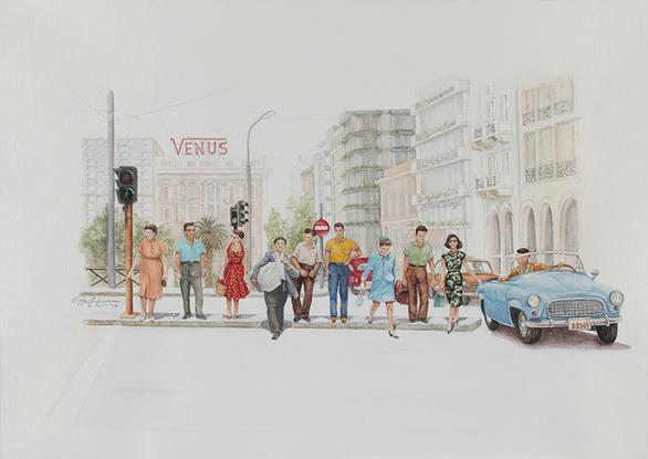 Έκθεση «Το πνεύμα του '60 - Περιήγηση σε έναν κόσμο που έφερε το αύριο» στο T. A. F / the art foundation