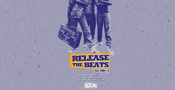Release the Beats at More steps Naja