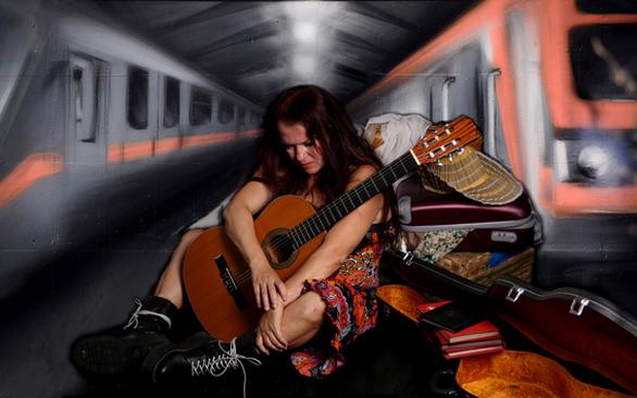"""""""Ιωάννα του μετρό"""" στον Πολυχώρο«Πολιτιστικές Απόπειρες»"""