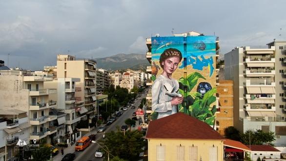 H Art in Progress προετοιμάζεται για το 5ο Διεθνές Street Art Festival Πάτρας