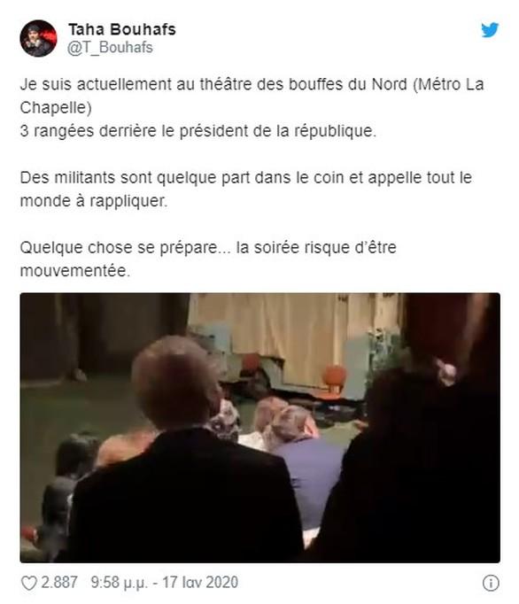 Επιχείρησαν να λιντσάρουν τον Εμανουέλ Μακρόν σε θεατρική παράσταση