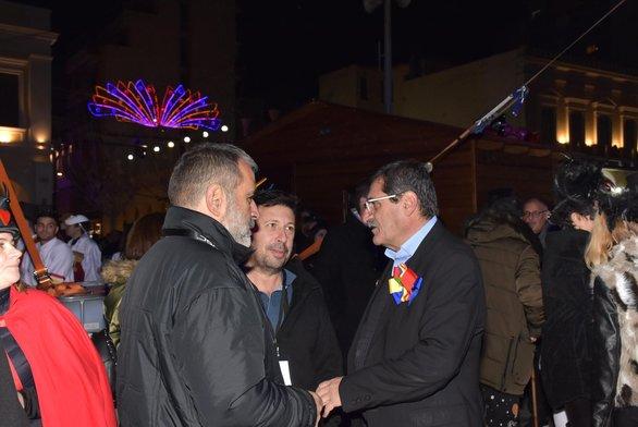 """Ο δήμαρχος της Πάτρας Κώστας Πελετίδης σε """"πηγαδάκι"""""""