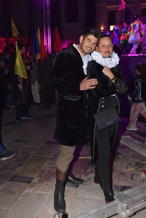 Δημήτρης Γεωργόπουλος και Μαρίνα Γρηγοροπούλου, αρχηγοί του πληρώματος 51