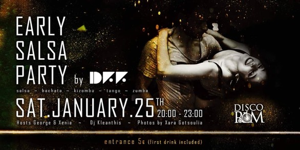 Early Saturday Salsa Party at Disco Room