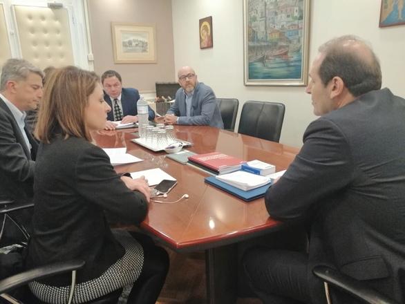 Ο ΣΚΕΑΝΑ πραγματοποίησε συνάντηση με τον υφυπουργό Οικονομικών