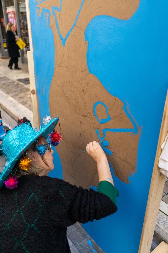 Πάτρα - Θα γεμίσει χρώματα και ζωγραφικές δημιουργίες, ο πεζόδρομος της Ρήγα Φεραίου!