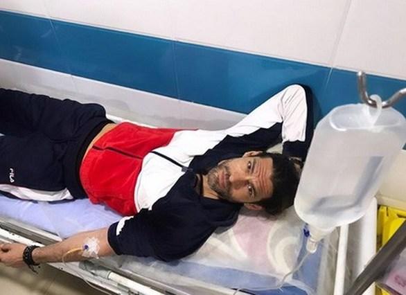 Σε νοσοκομείο του Ιράν ο Γιάννης Σπαλιάρας (φωτο)