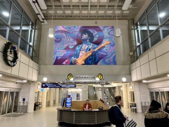 Τοιχογραφία του Prince σε αεροδρόμιο των ΗΠΑ!