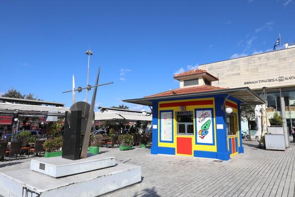 Πάτρα - Ανανεωμένο το καρναβαλικό περίπτερο στην πλατεία Τριών Συμμάχων (φωτο)