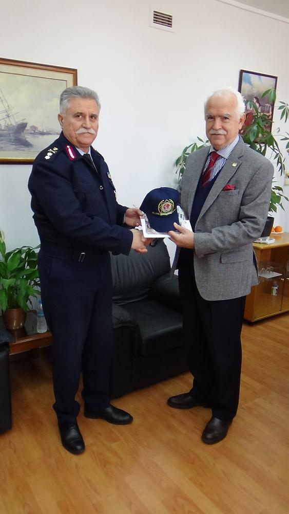 Η Διεθνής Ένωση Αστυνομικών επισκέφθηκε τη Γενική Περιφερειακή Αστυνομική Διεύθυνση Δυτικής Ελλάδας