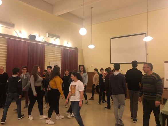 Μια μοναδική εμπειρία έζησαν οι μαθητές της θεατρικής ομάδας του 9ου Γυμνασίου Πάτρας (φωτο)