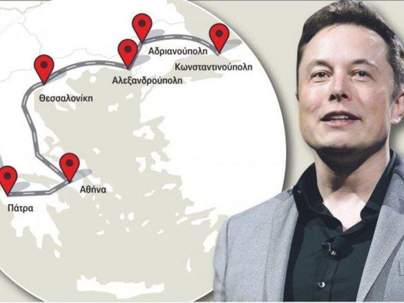 """Η Tesla θέλει """"ηλεκτρική λεωφόρο"""" στην Ελλάδα - Από την Πάτρα μέχρι τον Έβρο"""