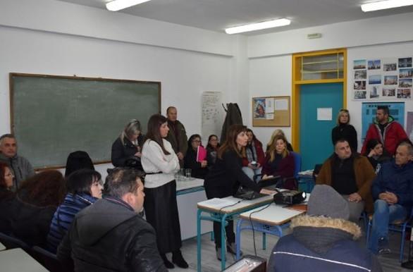 Πάτρα - Μέλη του Συμβουλευτικού Κέντρου Γυναικών επισκέφθηκαν το Σχολείο Δεύτερης Ευκαιρίας