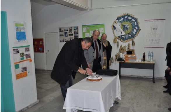 Έκοψε την Πρωτοχρονιάτικη πίτα του το Σχολείο Δεύτερης Ευκαιρίας Πάτρας (φωτο)