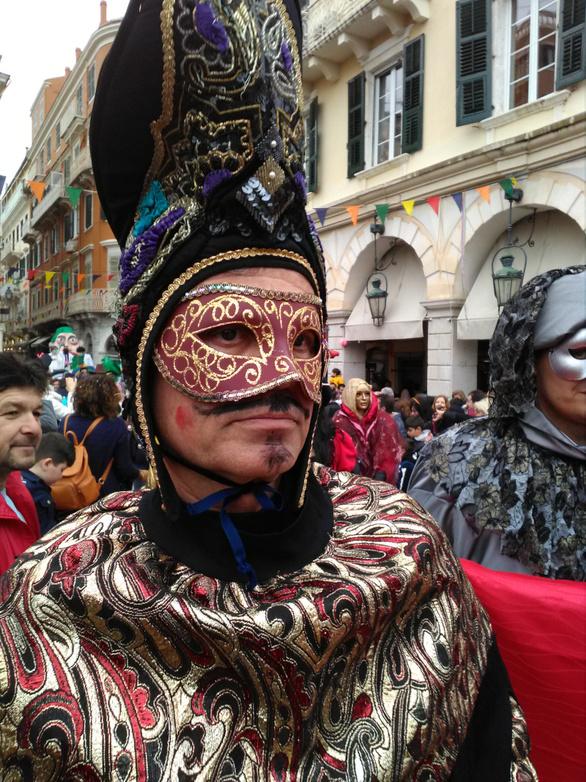 Άρωμα... Βενετίας στο καρναβάλι της Κέρκυρας