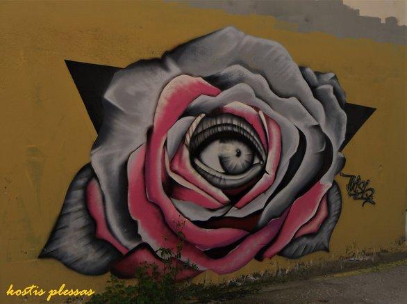 """Η τέχνη του γκράφιτι στην Πάτρα """"ανήκει"""" στους ντόπιους ανώνυμους καλλιτέχνες (pics)"""