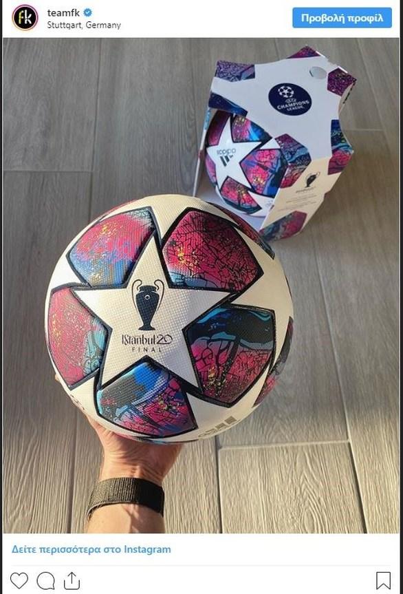 Champions League - Δείτε την μπάλα του τελικού (φωτο)