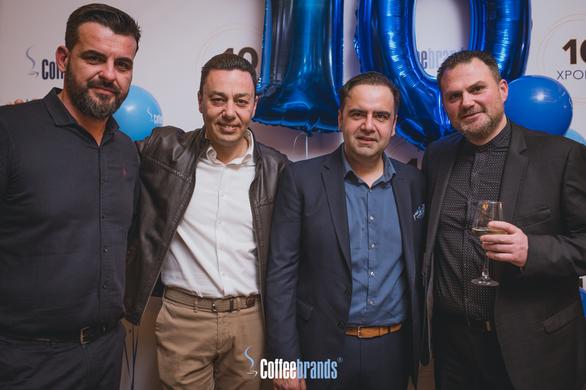 Τα Coffeebrands έκλεισαν 10 έτη λειτουργίας και το γιόρτασαν σε ένα ξεχωριστό event στο Due Piani! (pics)