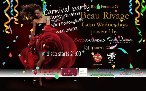 CarnivaLatin Wednesday στο Beau Rivage