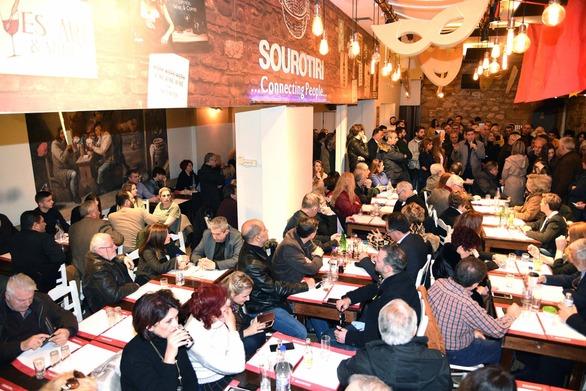 """Με επιτυχία η κοπή πίτας της δημοτικής παράταξης """"Πρωτεύουσα ξανά - Γρηγόρης Αλεξόπουλος"""""""