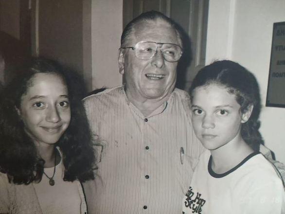 Η φωτογραφία της Πατρινής Λίλας Μπακλέση με τον Κώστα Βουτσά