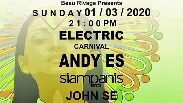 Electric Carnival Groups Party at Beau Rivage
